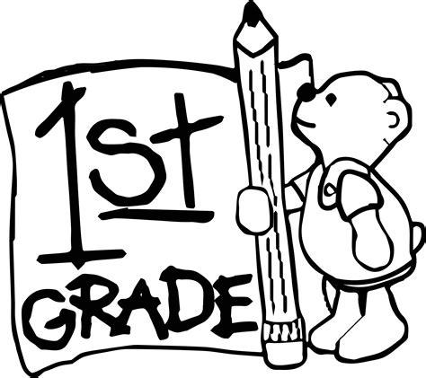 1st grade coloring pages 1st grade coloring page wecoloringpage