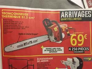 Affuteuse Chaine Tronconneuse Brico Depot : tronconneuse thermique oregon 51 2cm3 ~ Dailycaller-alerts.com Idées de Décoration