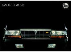 1989 Lancia Thema 832 brochure