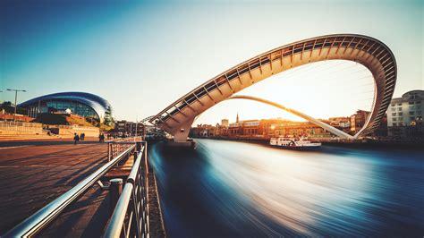 Gateshead Millennium Bridge Uk Wallpapers