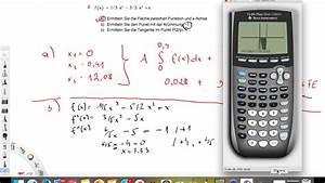 Tangente Berechnen : funktion 3 grades integral wendepunkt und tangente berechnen youtube ~ Themetempest.com Abrechnung