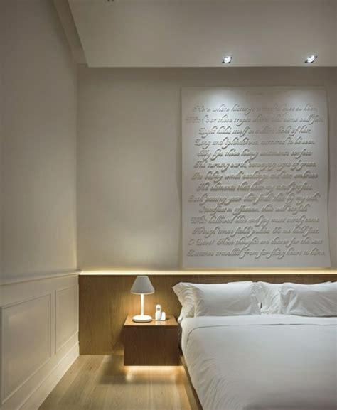 éclairage chambre à coucher l éclairage indirect 52 idées en photos parquet