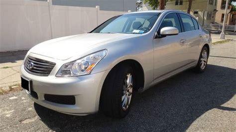 Purchase Used 2007 Infiniti G35 X Only 69k Miles Silver On