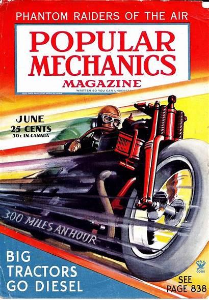 Mechanics Popular Magazine 1935 June Motorcycle Science