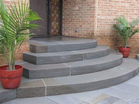 bluestone steps  entry wake forest nc contemporary