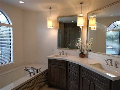 Sequoia Brown Quartzite Bathroom Traditional With Mounted