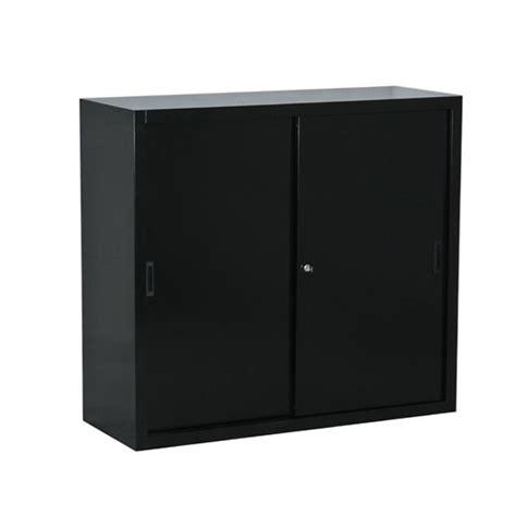 armoire bureau porte coulissante armoire basse à porte coulissante bureaudépôt