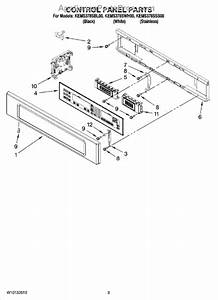 Whirlpool Wpw10119143 Electronic Control Board
