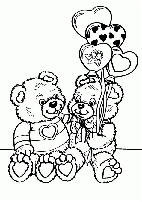 valentines day coloring page free printable coloring pages for