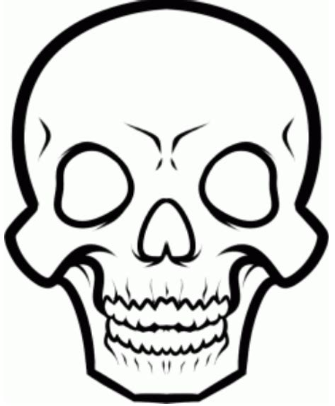 Skull Drawing Images Cliparts co