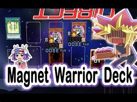 yu gi oh duel links magnet warrior pvp deck replays