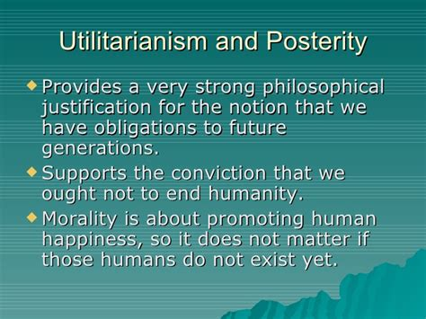 Chapter 6 Utilitarianism