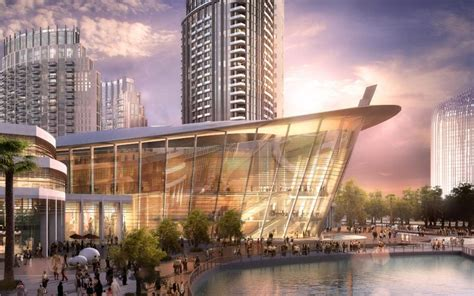 plans revealed   worlds largest cultural centre