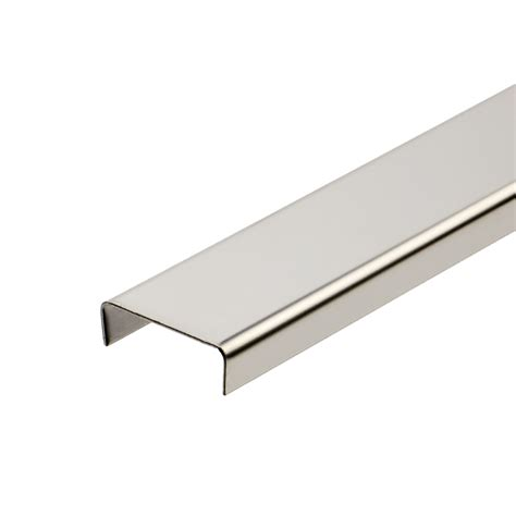 stainless steel listello tile trim tiling supplies direct