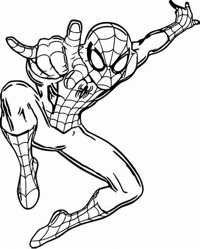 Spider Coloring Spiderman Ultimate Printable Colorare Disegni