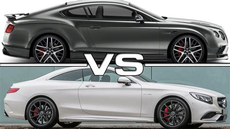 2017 Bentley Continental Supersports Vs Mercedes Amg S65