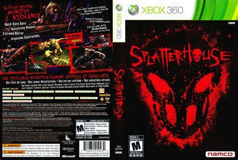 Splatterhouse Xbox 360 Game Covers Splatterhouse Dvd