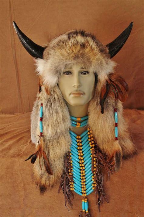 hand crafted imitation native american medicine man head