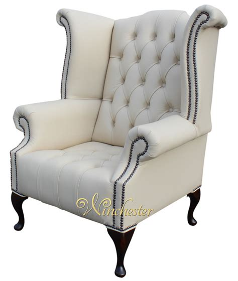 chesterfield buttoned high back wing chair