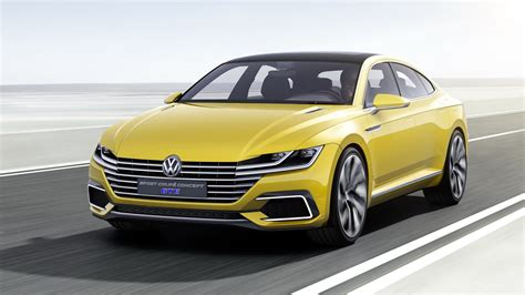 Volkswagen Car : 2015 Volkswagen Sport Coupe Concept Gte
