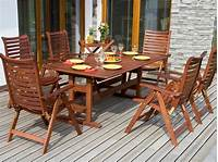 nice wood patio table Tips for Refinishing Wooden Outdoor Furniture | DIY