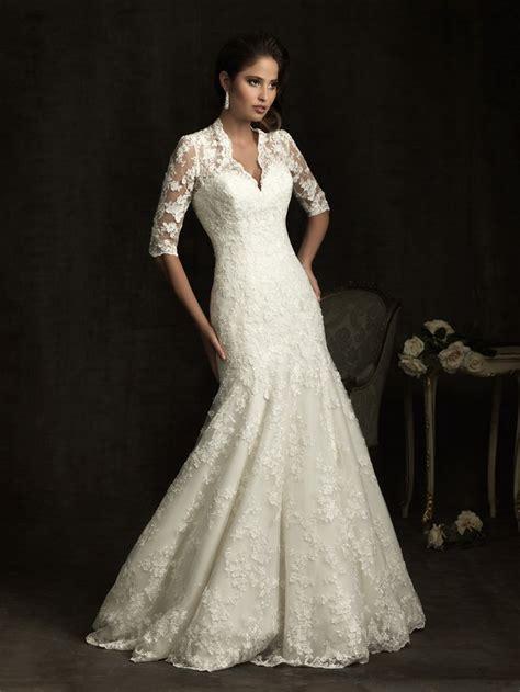 blog for dress shopping long sleeve wedding dresses back