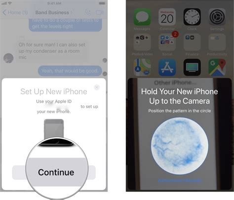 set up new iphone how to use automatic setup in ios 11 imore