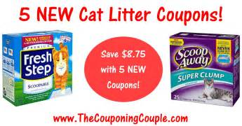 cat litter coupons 5 new cat litter coupons save 8 75 on fresh step