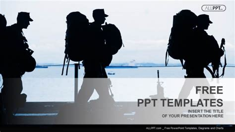 military powerpoint free powerpoint templates design