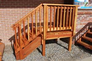 Building Porches And Decks by Deck Amp Stair The Redwood Store