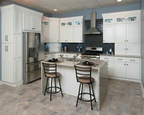 shaker kitchen cabinets images all wood kitchen cabinets 10x10 frosted white shaker rta