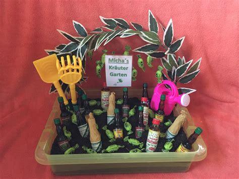 mini kuchen kräutergarten basteln geschenk selbstgemacht
