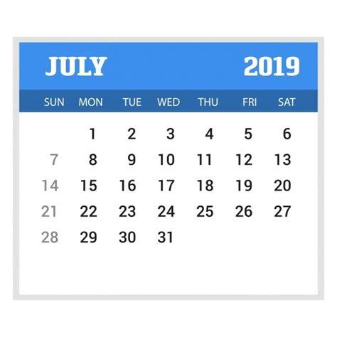 happy  year july calendar template christmas
