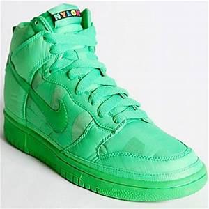 Nike Neon Dunk High Nylon Sneakers StyleFrizz