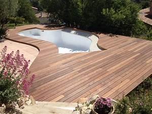 Tour De Piscine Bois : tour de piscine en itauba sur marseille parquet et ~ Premium-room.com Idées de Décoration