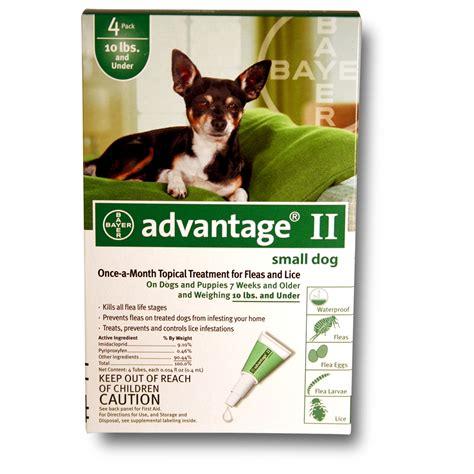 advantage ii  dogs