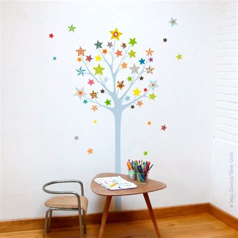 stickers arbre chambre bébé sticker the tree of baby and child bedroom