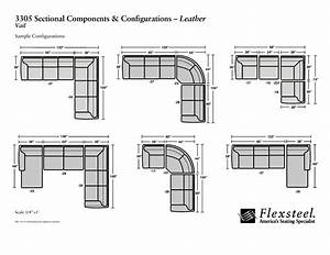 Dimensions of sectional sofa thesofa for Dimensions for sectional sofa