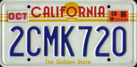 california license plate designs what state or province has the coolest license plates