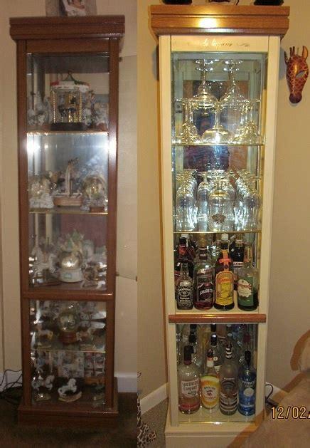 diy liquor cabinet diy liquor cabinet wood furniture darker