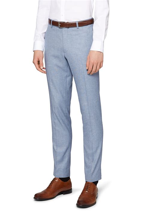 mens light grey dress pants moss london mens light grey suit trousers slim fit