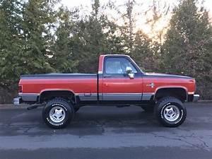 1984 Chevrolet K10 4x4 Short Box Truck For Sale  K Pickup 1500 1984 For Sale In
