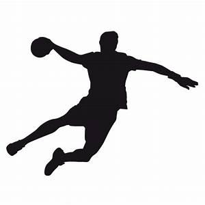 Handball Spieler Wandtattoo