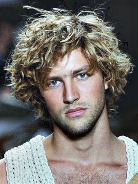 long curly hairstyles men mens hairstyles  haircuts