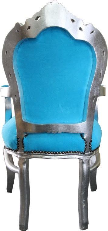 Esszimmer Le Silber by Barock Esszimmer Stuhl T 252 Rkis Silber Mit Armlehnen