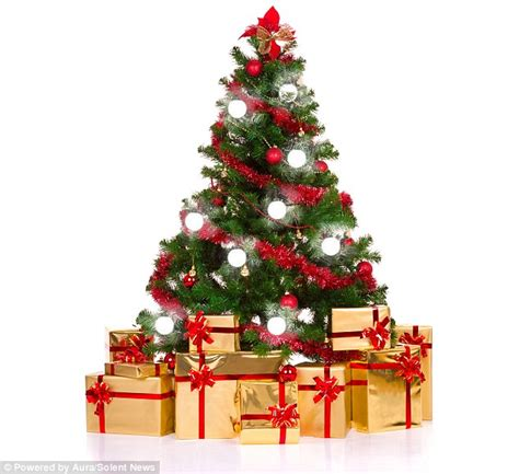 next christmas trees with lights aura tree lights are powered by magnetic field and controlled by iphone daily mail