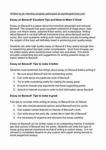 beowulf critical analysis