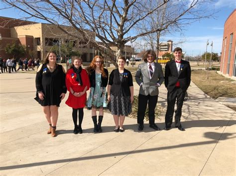 grhs choir members advancing texas state solo ensemble contest