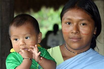 Achuar Ecuador Child Mother Pachamama Indigenous Culture