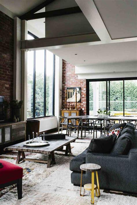 ultimate industrial living room design ideas